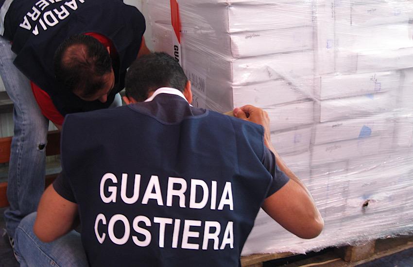 ATTIVITA' DI CONTROLLO SULLA FILIERA ITTICA:  tre tonnellate e mezzo di gamberi argentini ritirati dal mercato