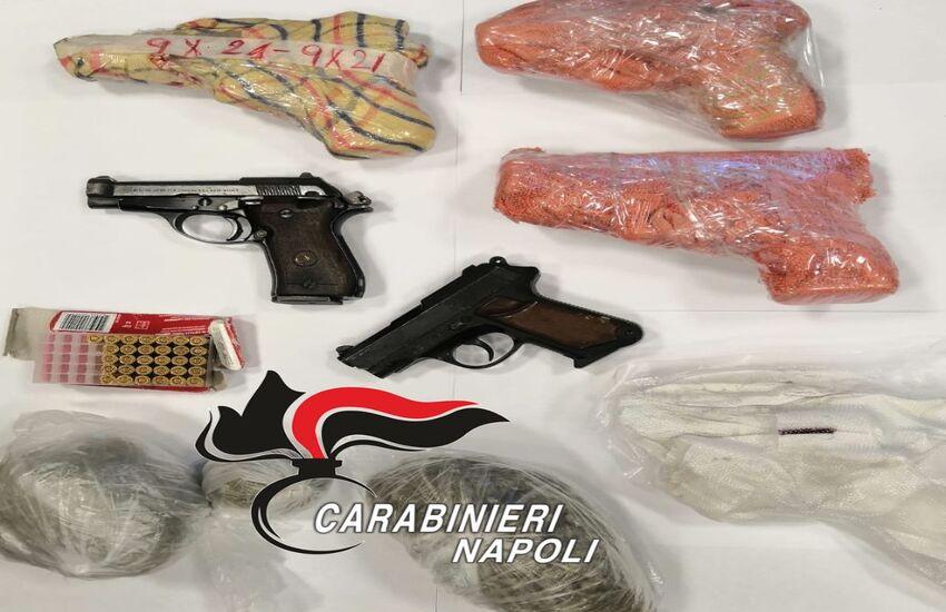 Aumenta l'uso di armi tra giovanissimi, Castello di Cisterna e Casoria ai primi posti
