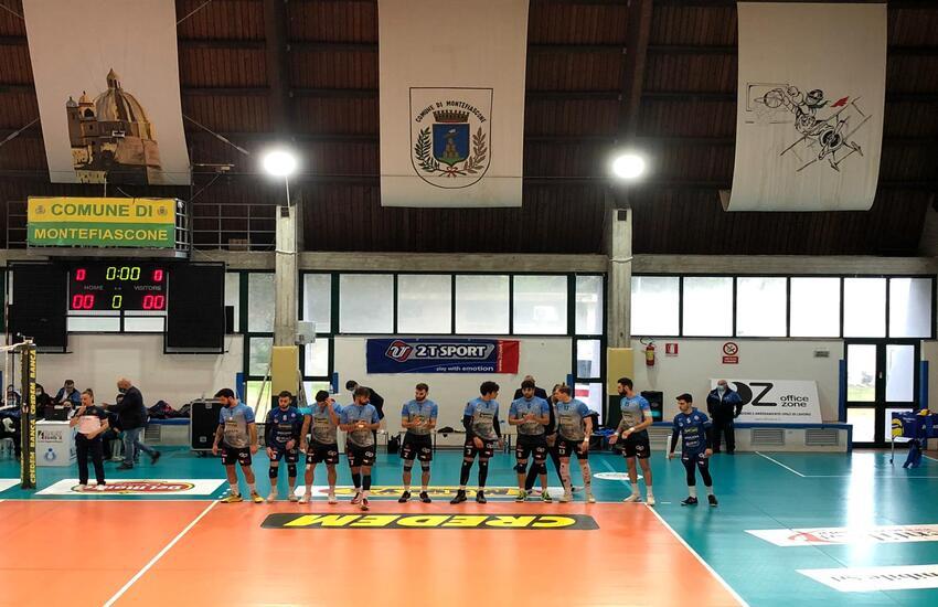 Modica, l'Avimecc Volley sconfitta a Tuscania, tutto si gioca al ritorno