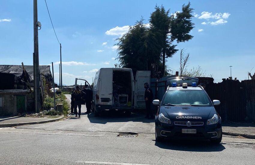 Controlli serrati sulle attività commerciali a Ponticelli, San Giorgio e Barra: pioggia di denunce per smaltimento illecito di rifiuti ed altri reati