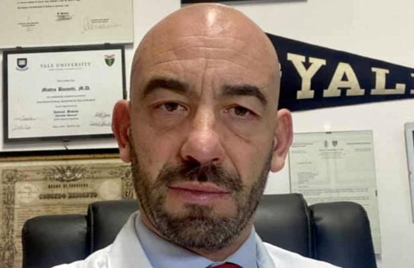 Covid: Bassetti, 'Vaccini tutti uguali, bisogna avere coraggio di riaprire'
