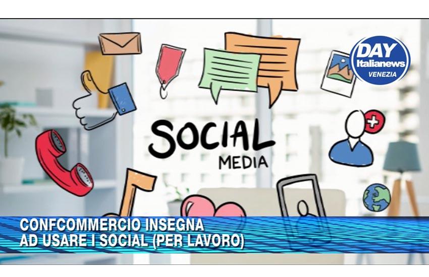 CONFCOMMERCIO VENEZIA TERRAFERMA INSEGNA AD USARE I SOCIAL (PER LAVORO)