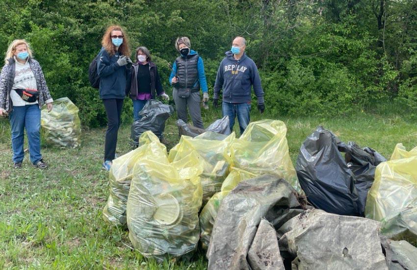 """Marghera, Forte Tron """"Netemo day"""": raccolti decine di sacchi di rifiuti"""