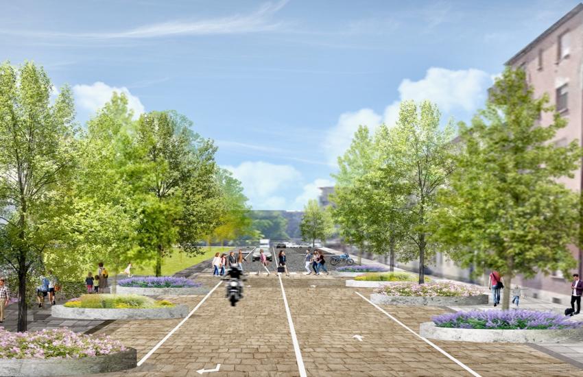 Milano: Alberi, marciapiedi e ciclabili, riqualificazione Lorenteggio-Giambellino