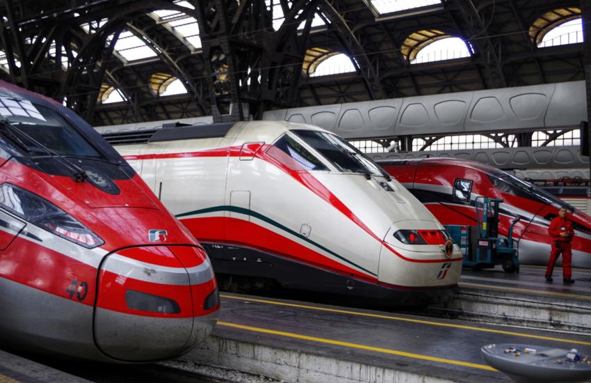 Treni 'covid tested' sulla tratta Milano-Roma dal 15 aprile