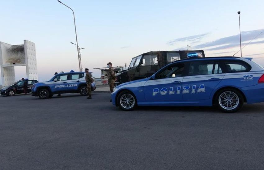 Gela, vigilanza anti Covid delle Forze di Polizia: controllate 1300 persone, 45 sanzionate per violazioni delle misure di contenimento