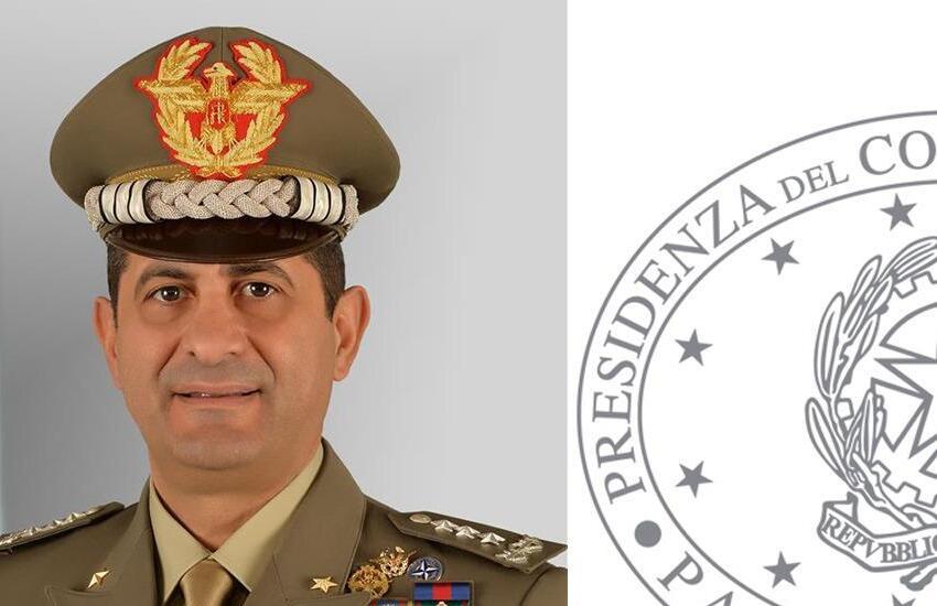 Il generale Figliuolo in visita in Piemonte il 14 e 15 aprile