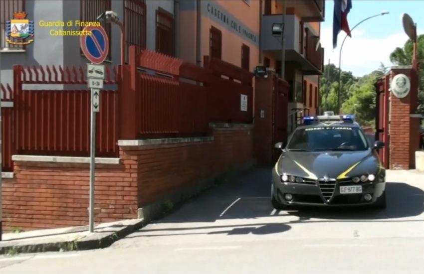 """Caltanissetta, Guardia di Finanza/Operazione """"Nemesi"""": sequestrati beni per oltre 170 mila euro"""