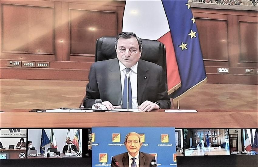 """Recovery plan, Musumeci a Draghi: """"sbagliato metodo e merito"""""""