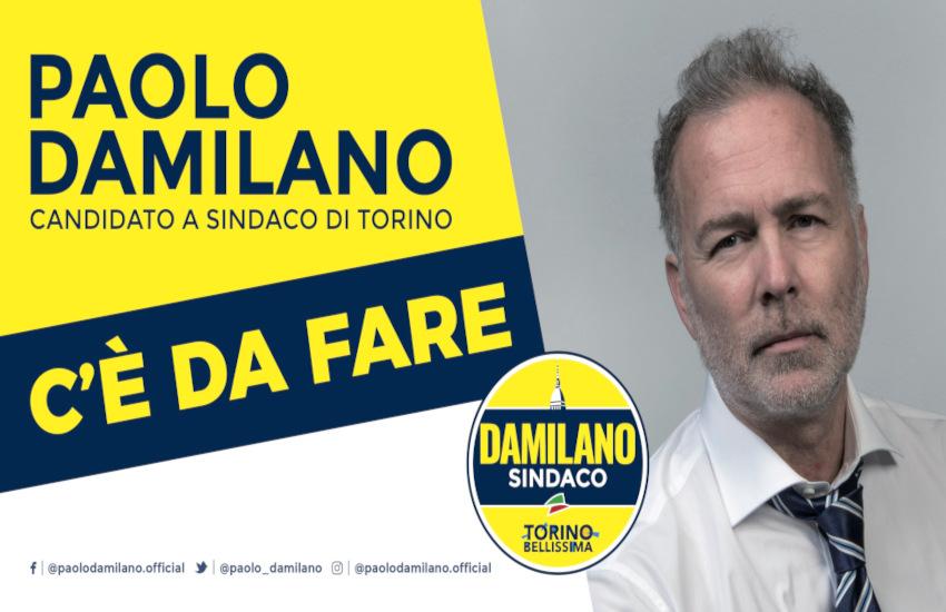 """""""C'è da fare"""": Damilano lancia simbolo e lista per Torino"""