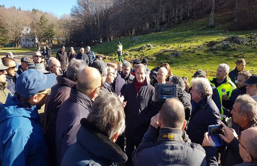 """Musumeci: """"Rilanciamo Piano Battaglia"""", Regione avvia i lavori per strada d'accesso"""