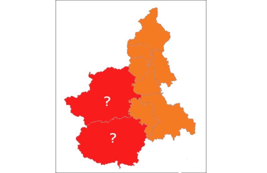 Da lunedì 12 il Piemonte sarà arancione, ma non ovunque