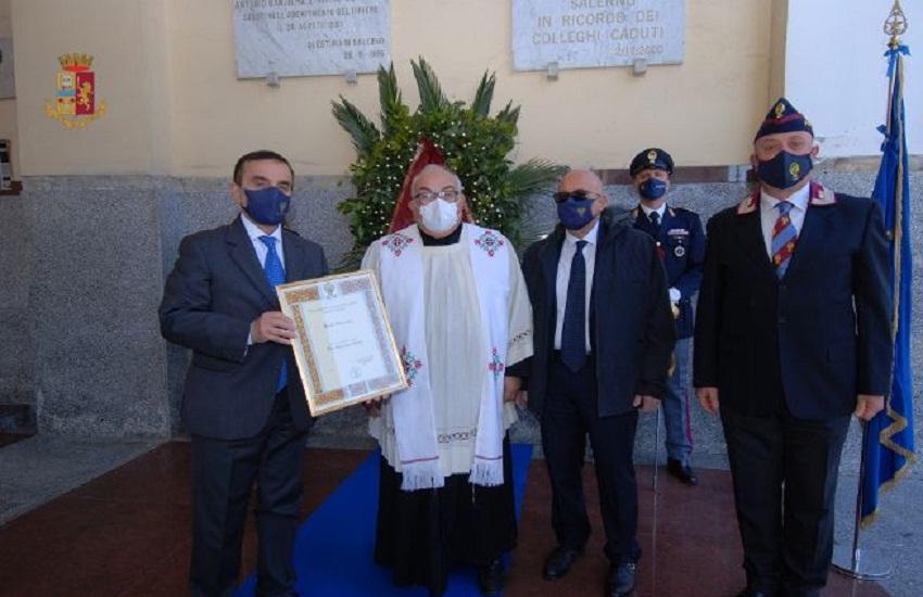 Polizia di Stato in festa, celebrazioni anche a Salerno (Video e foto)