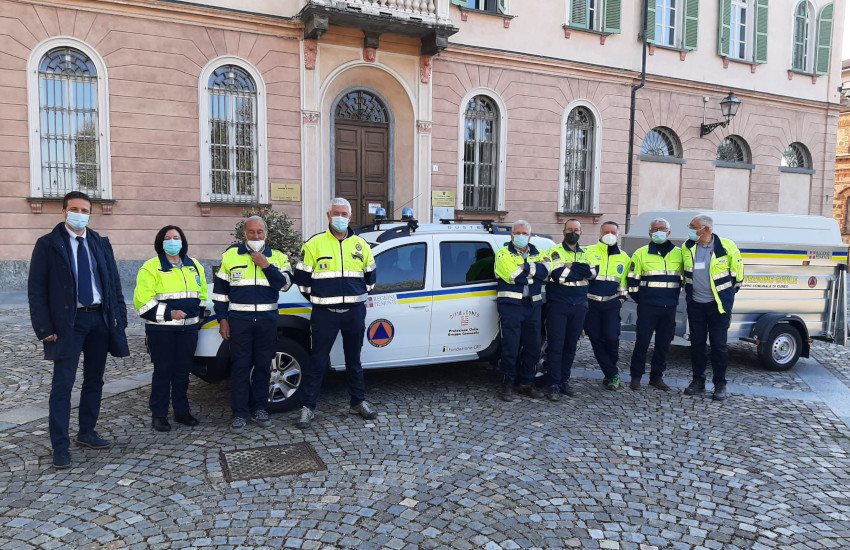 Protezione Civile, a Cuneo 18 volontari in più e 1 nuovo mezzo