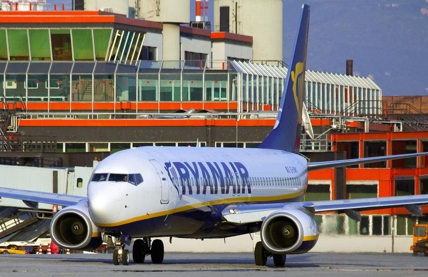 Ryanair lancia l'operativo estivo da Genova, 13 voli