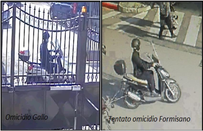 Agguati di camorra a San Giorgio a Cremano, la Polizia diffonde le immagini del killer