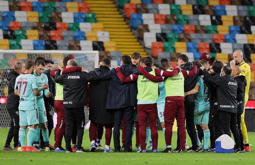 Udinese-Torino (0-1): Belotti segna il rigore che vale 3 punti