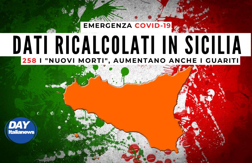 """Sicilia, dati ricalcolati, 258 i """"nuovi"""" morti"""