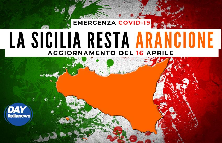 """Covid 16 aprile, contagi ancora alti, ma la Sicilia resta """"Arancione"""". Catania rischia con +374 casi"""