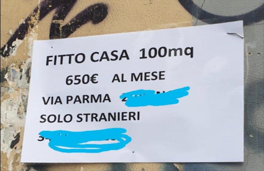 """""""Si fitta casa solo a stranieri"""" nel quartiere Vasto: esplode la polemica"""