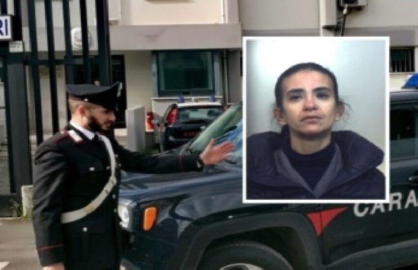 Ragusa, arrestata ladra in trasfera a Lentini