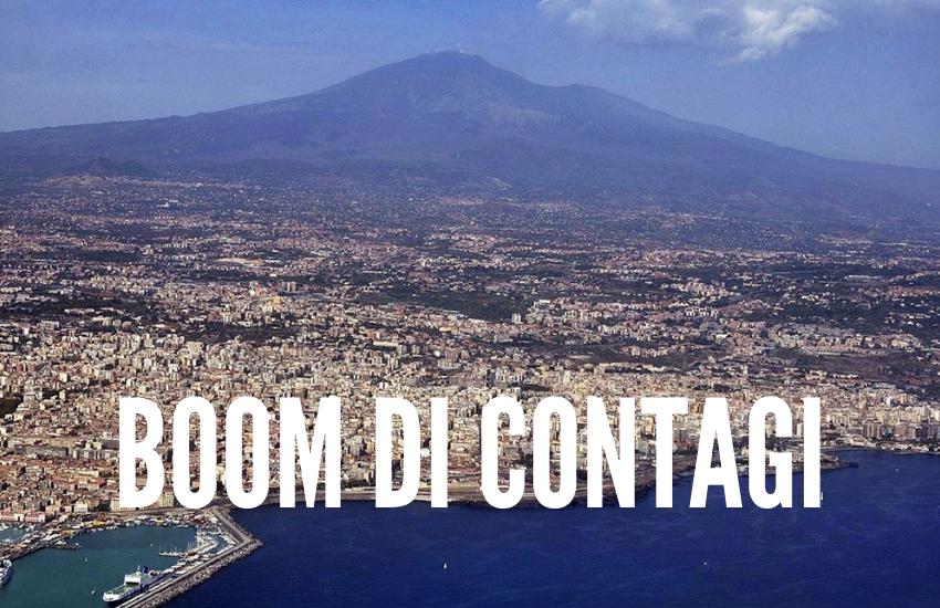 Catania, boom di contagi: quasi la metà dei casi di tutta la Sicilia