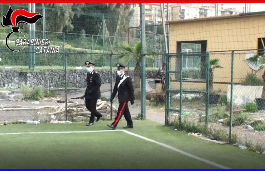 Catania, la pandemia non ferma una finale di calcetto con tanto di spettatori ai bordi del campo