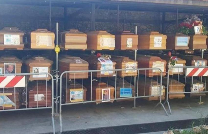 Palermo, problemi sepolture, 850 bare nei depositi