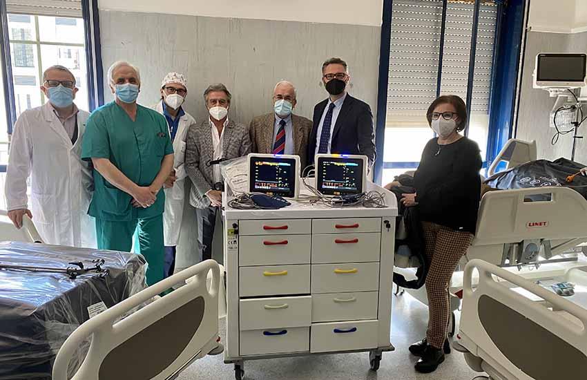 Gli ospedali di Piedimonte Matese e Sessa Aurunca si arricchiscono di nuove apparecchiature