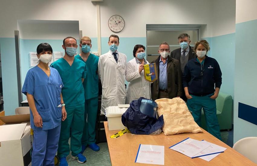 Mauriziano: dal Rotary le apparecchiature per la terapia intensiva Covid
