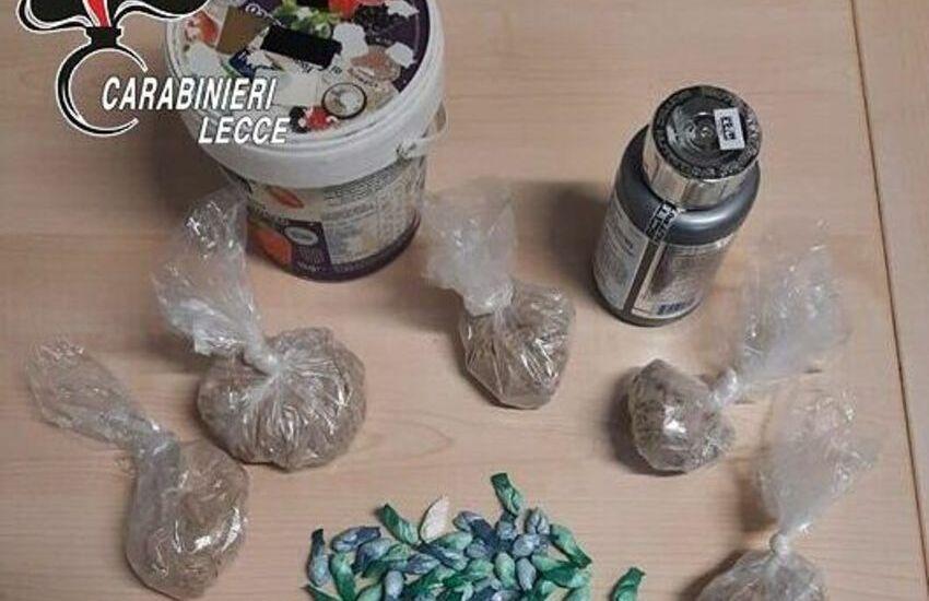 Eroina e cocaina nascosta in casa. Arrestato per spaccio 46enne leccese