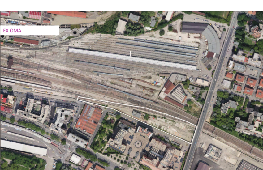 Bologna: rigenerazione urbana area ferroviaria Ex OMA
