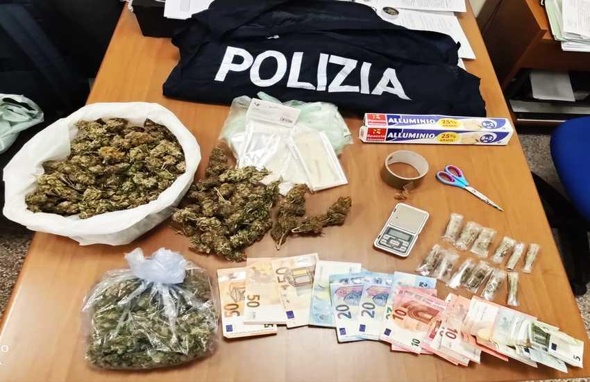 Palermo – Spacciava cocaina travestito da rider, arrestato.