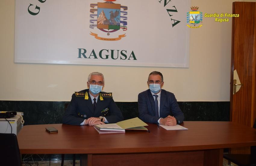Ragusa, cabina di regia fra Guardia di Finanza e Inps
