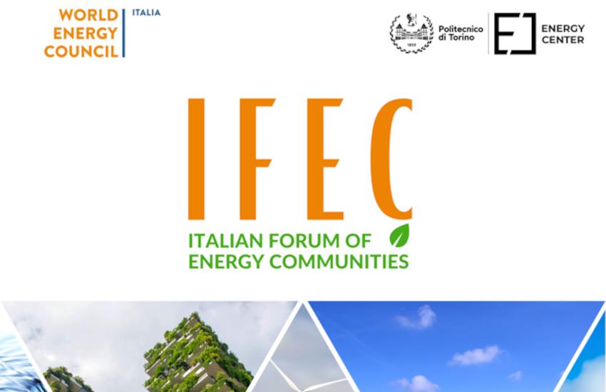 Via al progetto IFEC, il forum italiano sulle comunità energetiche