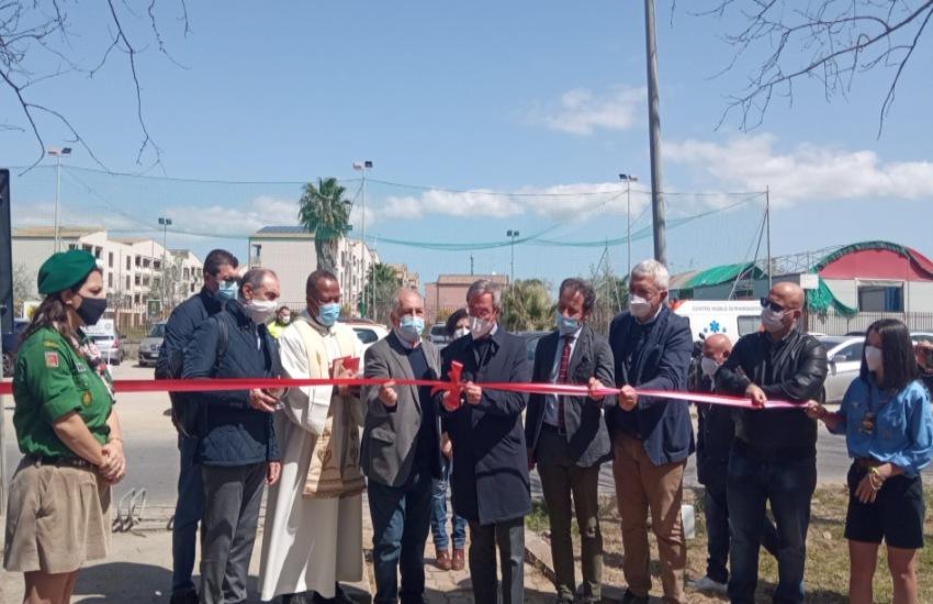 Gela, inaugurato il parco Iqbal Masiq di Macchitella. Greco: un bellissimo esempio di cittadinanza attiva e di collaborazione