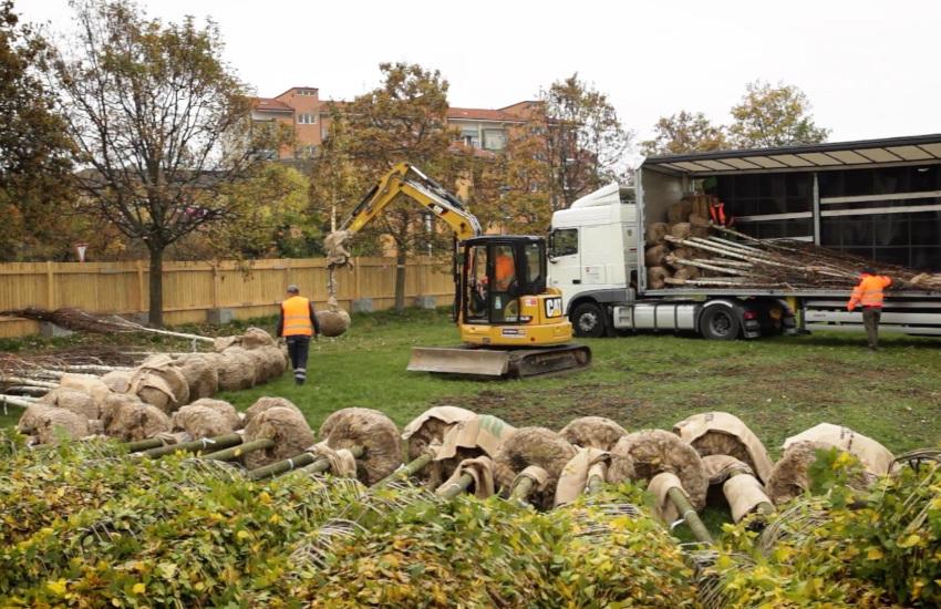 Cuneo, Parco Parri sta diventando realtà
