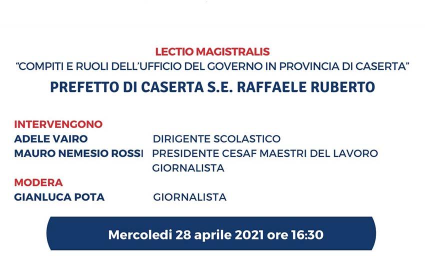 Liceo Manzoni, cosa succede quando a tornare a scuola è il Prefetto di Caserta?