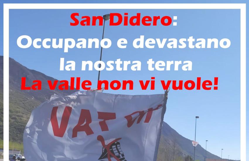 No TAV, proseguono le proteste a San Didero: alle 16 la conferenza dei sindaci