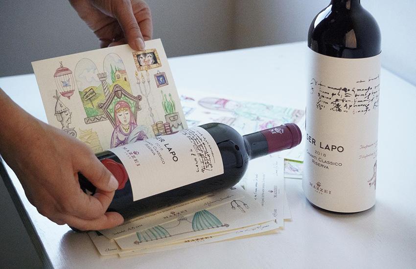 Arte & vino: un connubio fiorentino vincente. Mazzei si affida agli studenti del liceo artistico, 2 i vincitori