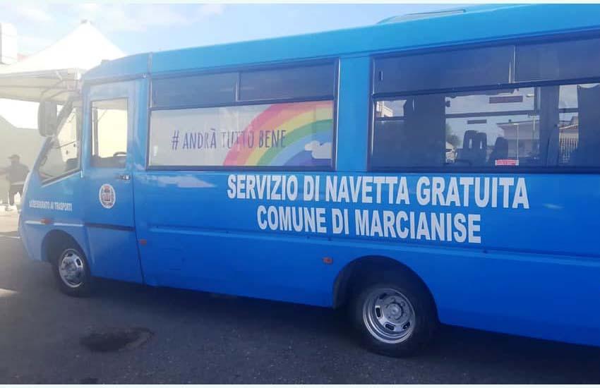 """Marcianise, parte la navetta azzurra """"dedicata"""" 3 giorni a settimana dalle 8.30 alle 13.30"""