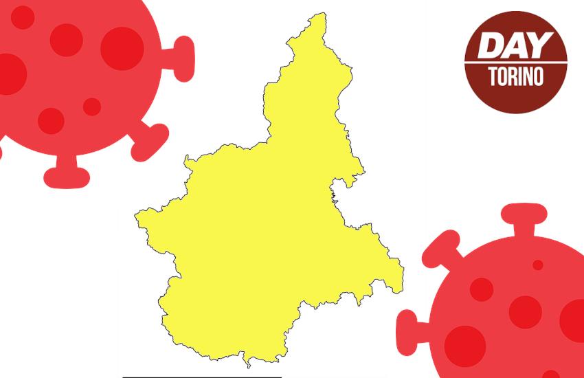 Piemonte, zona gialla a rischio: contagi alti e poche dosi