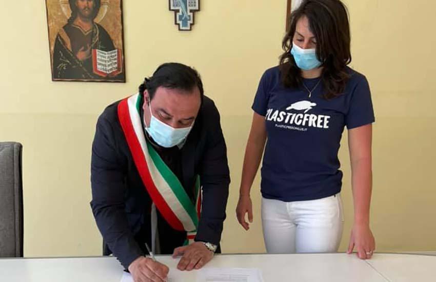Plastic free Campania e il Comune di Sirignano (Av) firmano un protocollo d'intesa