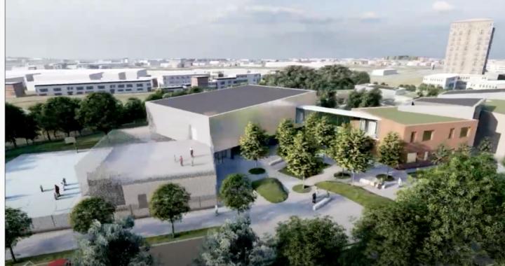 Bologna: il nuovo polo scolastico Federzoni