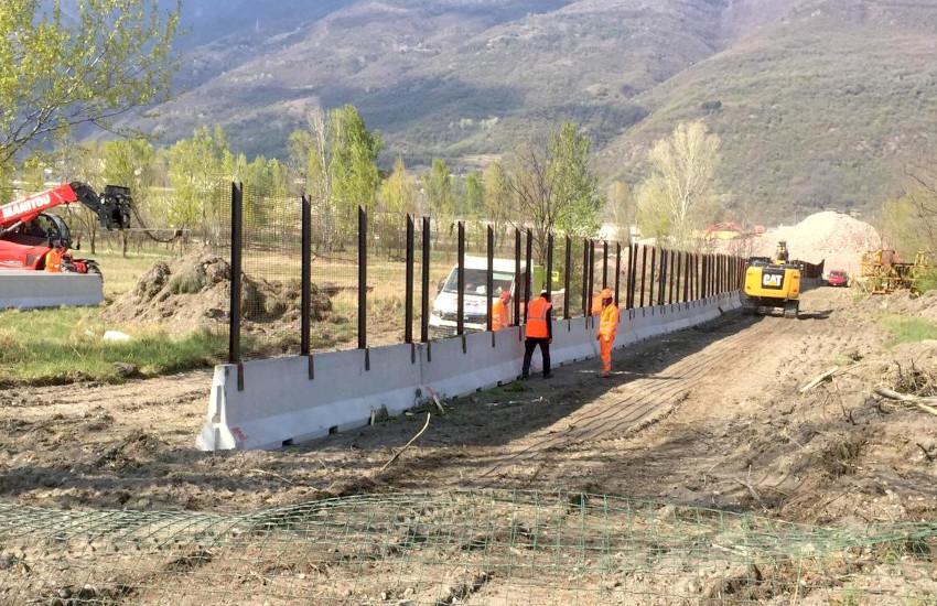 San Didero, posate le recinzioni del secondo cantiere TAV