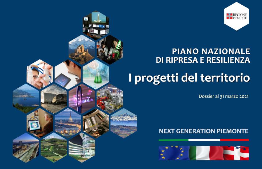 Recovery Plan per il Piemonte: 27 miliardi per 1.200 progetti