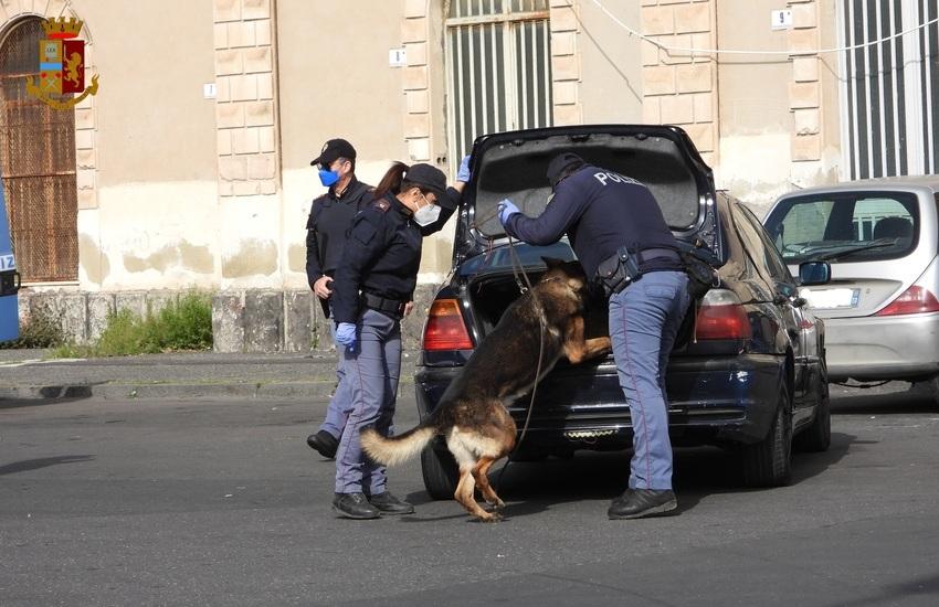 Catania, operazione ampio raggio, sorprendenti risultati per la sicurezza