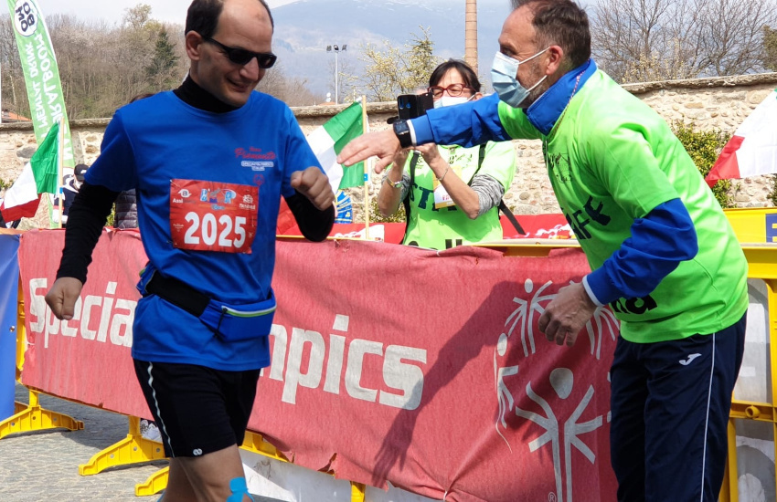 Simone Perona, l'ultramaratoneta con disabilità intellettiva