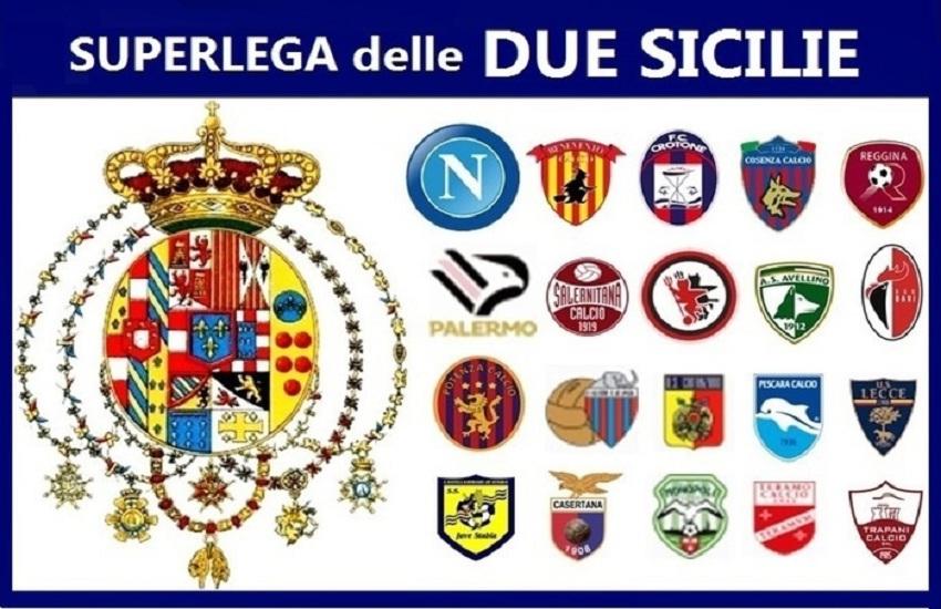 Nella Superlega delle Due Sicilie c'è anche la Salernitana ma con lo stemma sbagliato