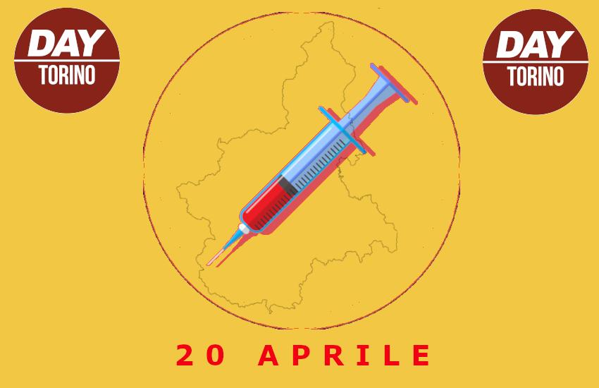 Vaccini in Piemonte: sono 23.879 le dosi somministrate oggi